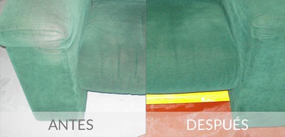 Limpieza de Tapicerías – Textil